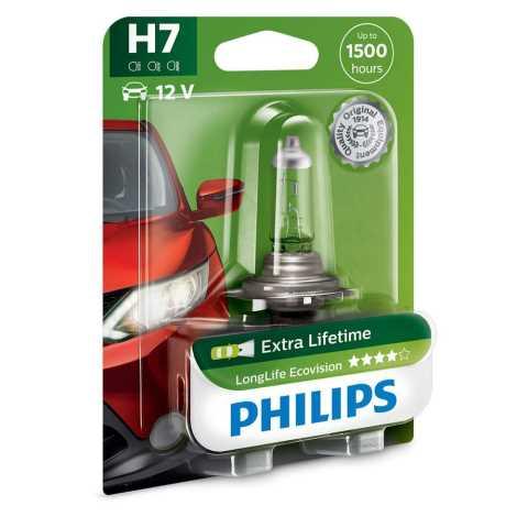 Autožárovka Philips ECOVISION 12972LLECOB1 H7 PX26d/55W/12V