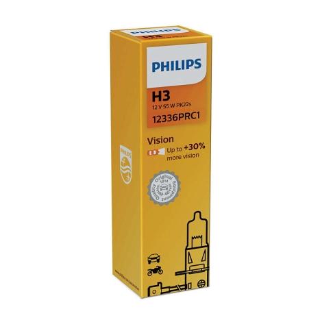 Autožárovka Philips VISION 12336PRC1 H3 PK22s/55W/12V