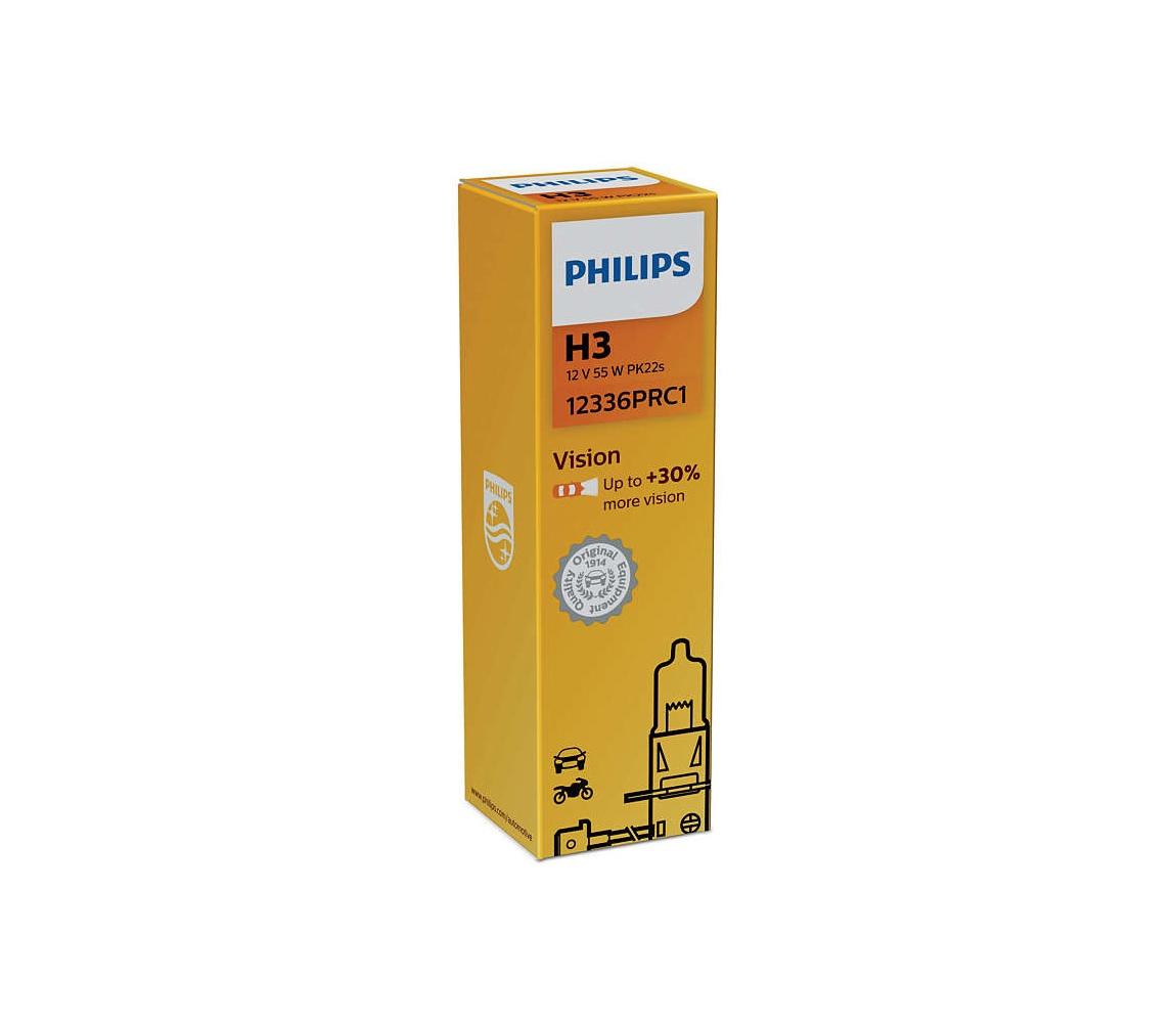 Philips Autožárovka Philips VISION 12336PRC1 H3 PK22s/55W/12V