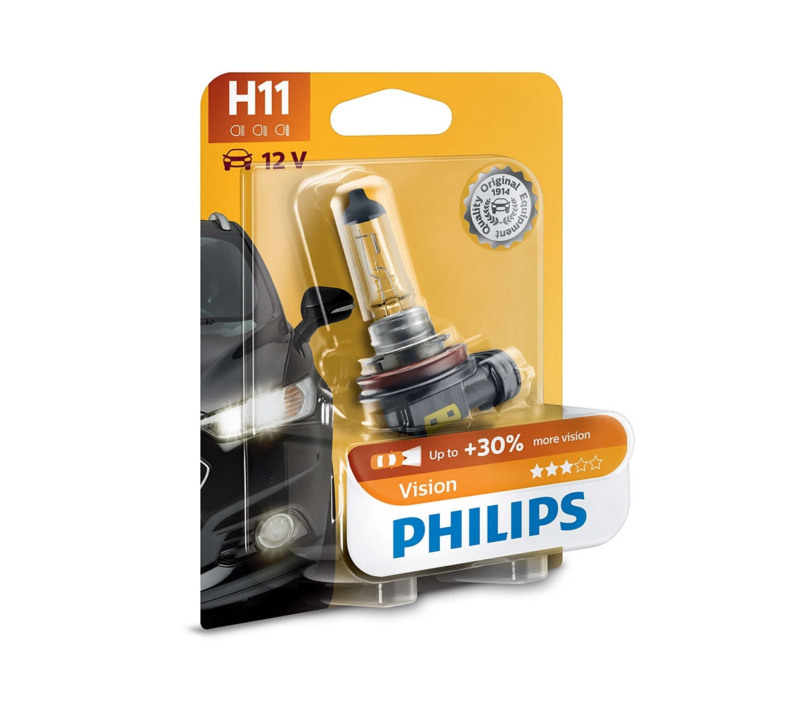 Philips Autožárovka Philips VISION 12362PRB1 H11 PGJ19