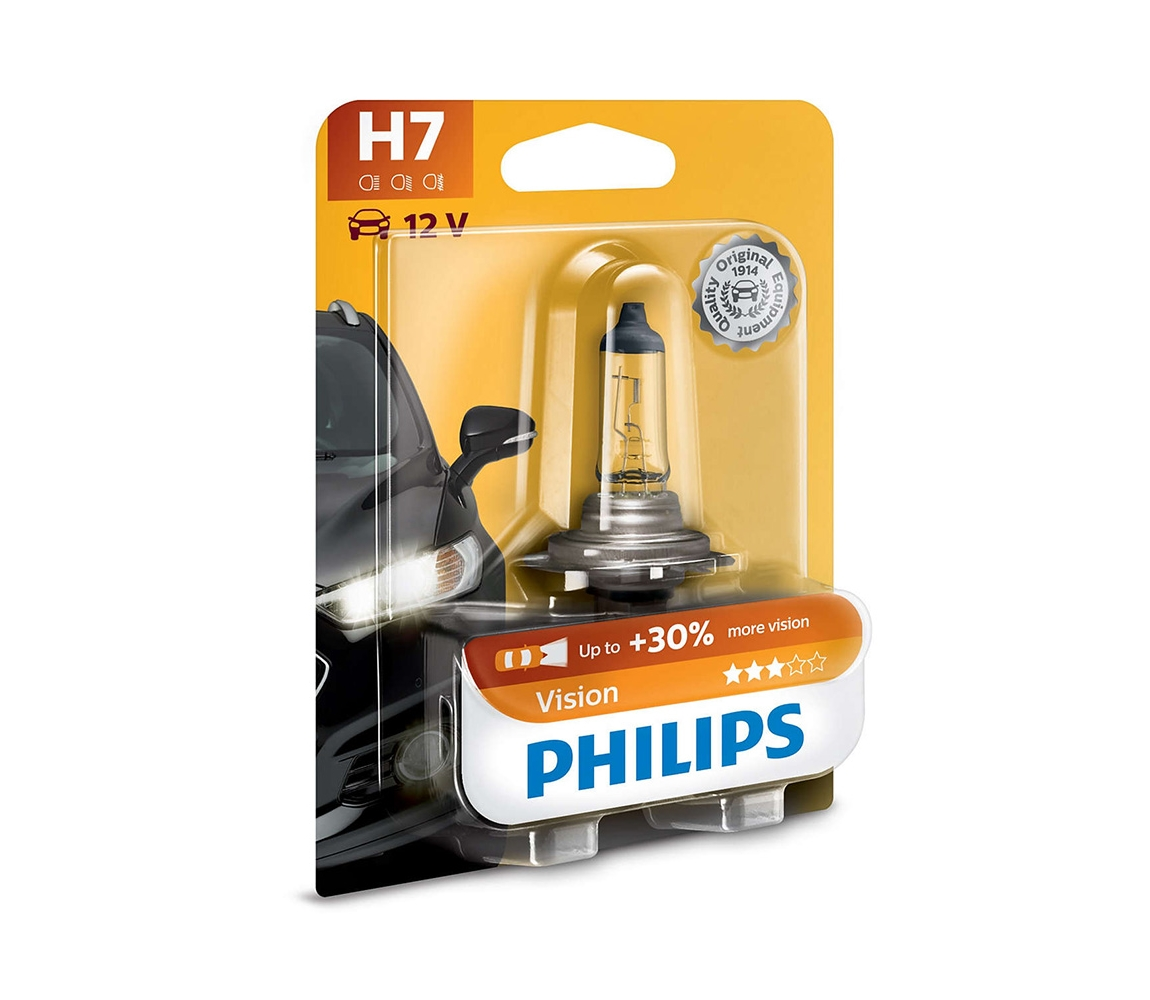 Philips Vision 12972PRB1 H7 PX26d 12V 55W