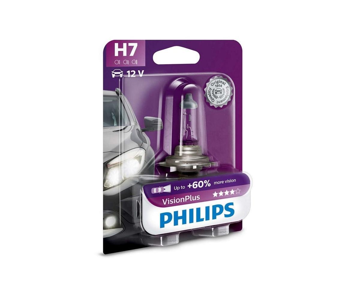Philips Autožárovka Philips VISIONPLUS 12972VPB1 H7 PX26d/55W/12V