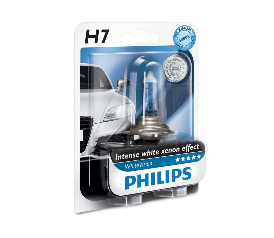 Philips Autožárovka Philips WHITEVISION 12972WHVB1 H7 PX26d/55W/12V