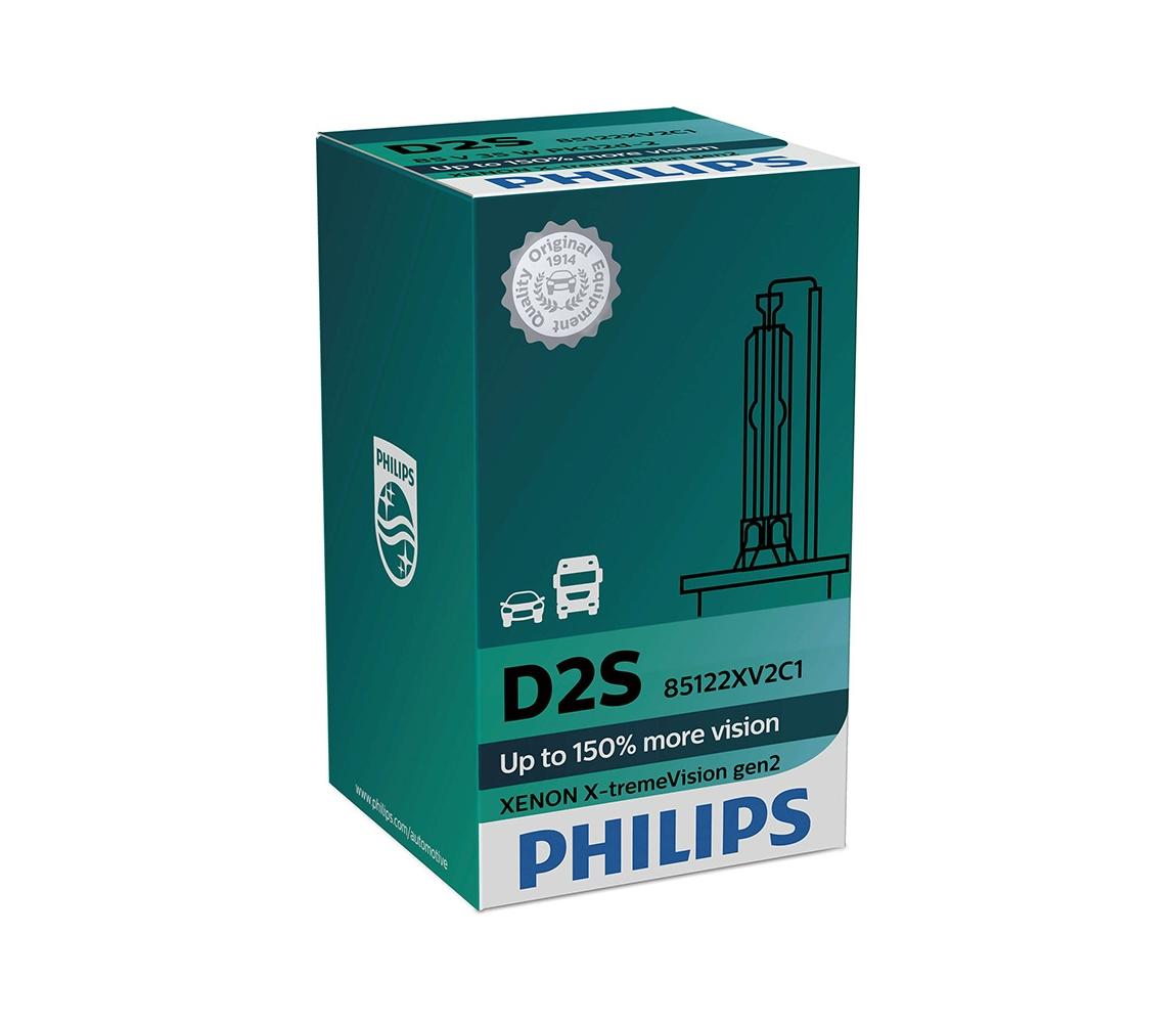 Philips Autožárovka Philips XENON X-TREMEVISION 85122XV2C1 D2S PK32d-2/35W/85V P2278