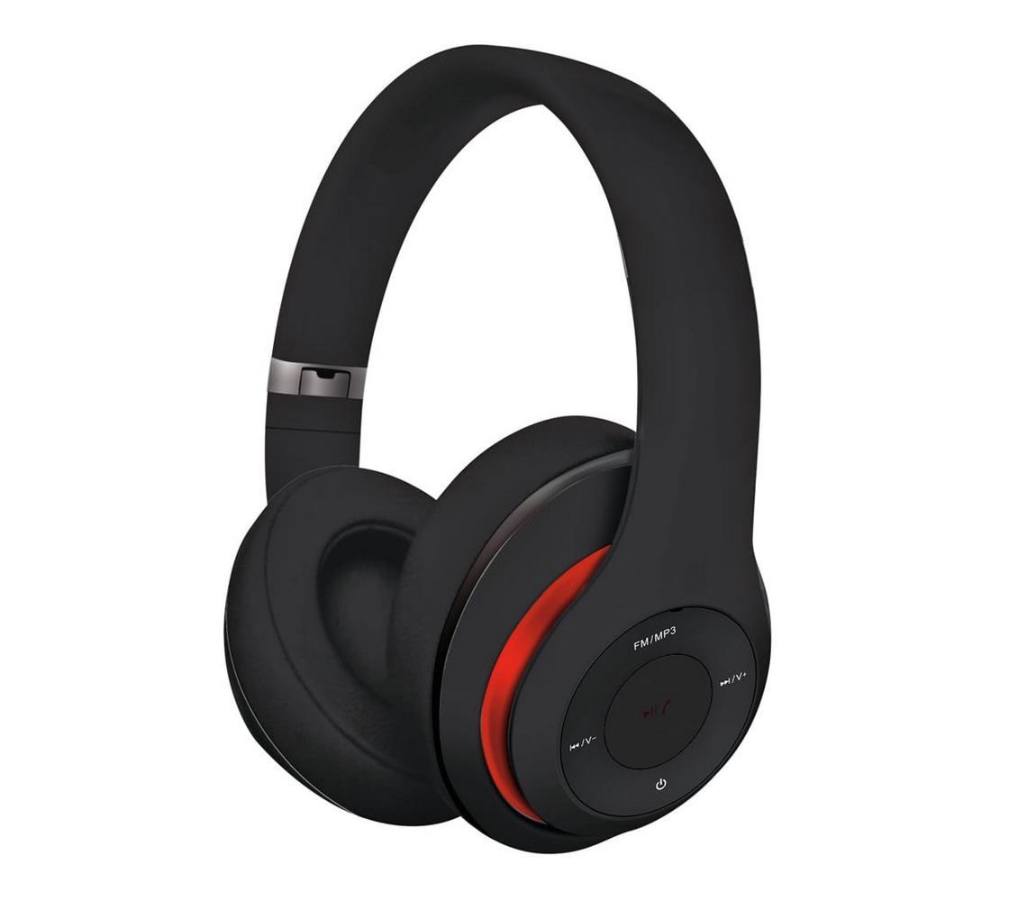 Platinet Bezdrátová sluchátka s Bluetooth černá