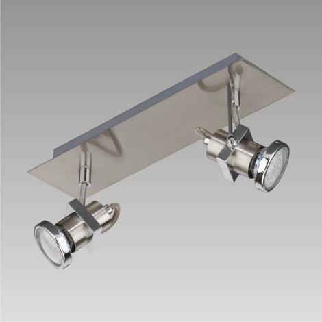 Bodové LED svítidlo BORG 2xGU10/2,3W/230V