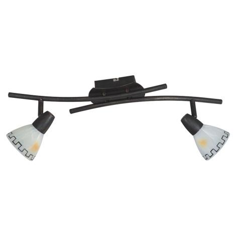 Bodové svítidlo AZTEC 2xE14/40W/230V