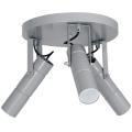 Bodové svítidlo IMPLODE 3xGU10/8W/230V šedá