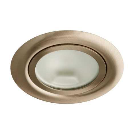 Bodové svítidlo OZZY 2116B 1xG4/20W/12V Mosaz - GXPP018