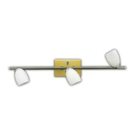 Bodové svítidlo QUART 3xG9/40W/230V