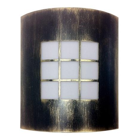 Bright Light 01812/71/BR - Venkovní nástěnné svítidlo PROMO 1xE27/60W/230V