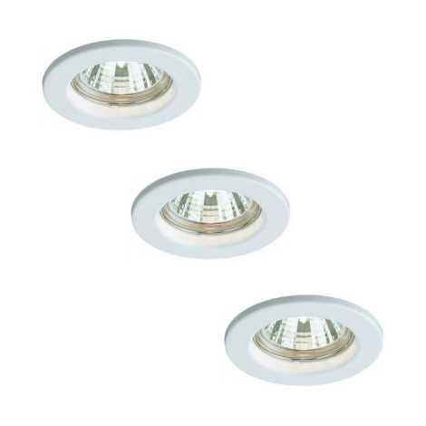 Bright Light 59393/31/19 - SADA 3x Koupelnové svítidlo 3xGU10/50W/230V