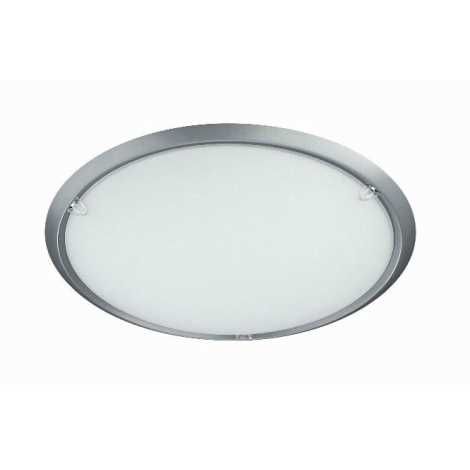 BRIGHT LIGHT 77050/11/87 - Stropní svítidlo TIA 1xE27/60W/230V stříbrno šedá