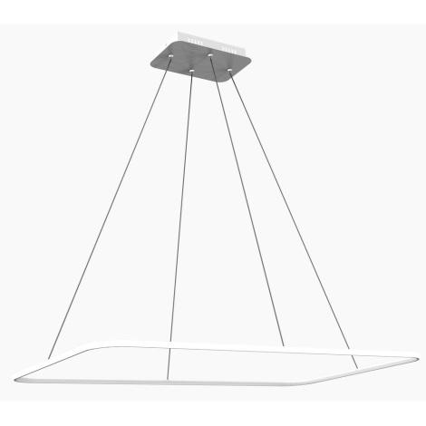 Brilagi - LED Lustr na lanku ANZIO 100 LED/50W/230V
