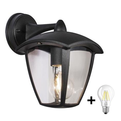 Brilagi - LED Venkovní nástěnné svítidlo LUNA 1xE27/8W/230V IP44
