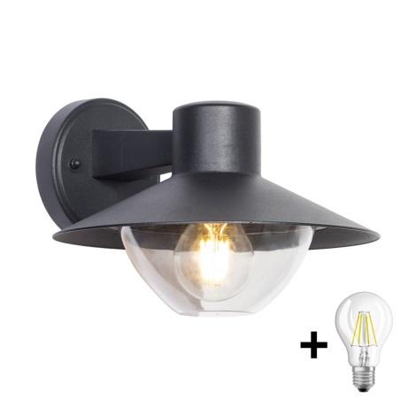 Brilagi - LED Venkovní nástěnné svítidlo VEERLE 1xE27/8W/230V IP44