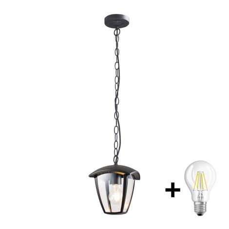 Brilagi - LED Venkovní závěsné svítidlo LUNA 1xE27/10W/230V IP44