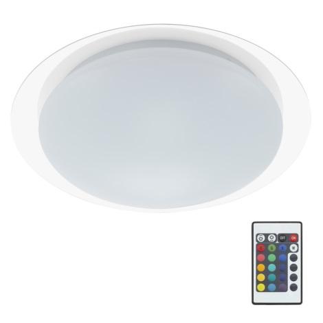 Briloner 3493-016 - LED RGB Stmívatelné stropní svítidlo 1xLED/12W/230V + dálkové ovládání IP44