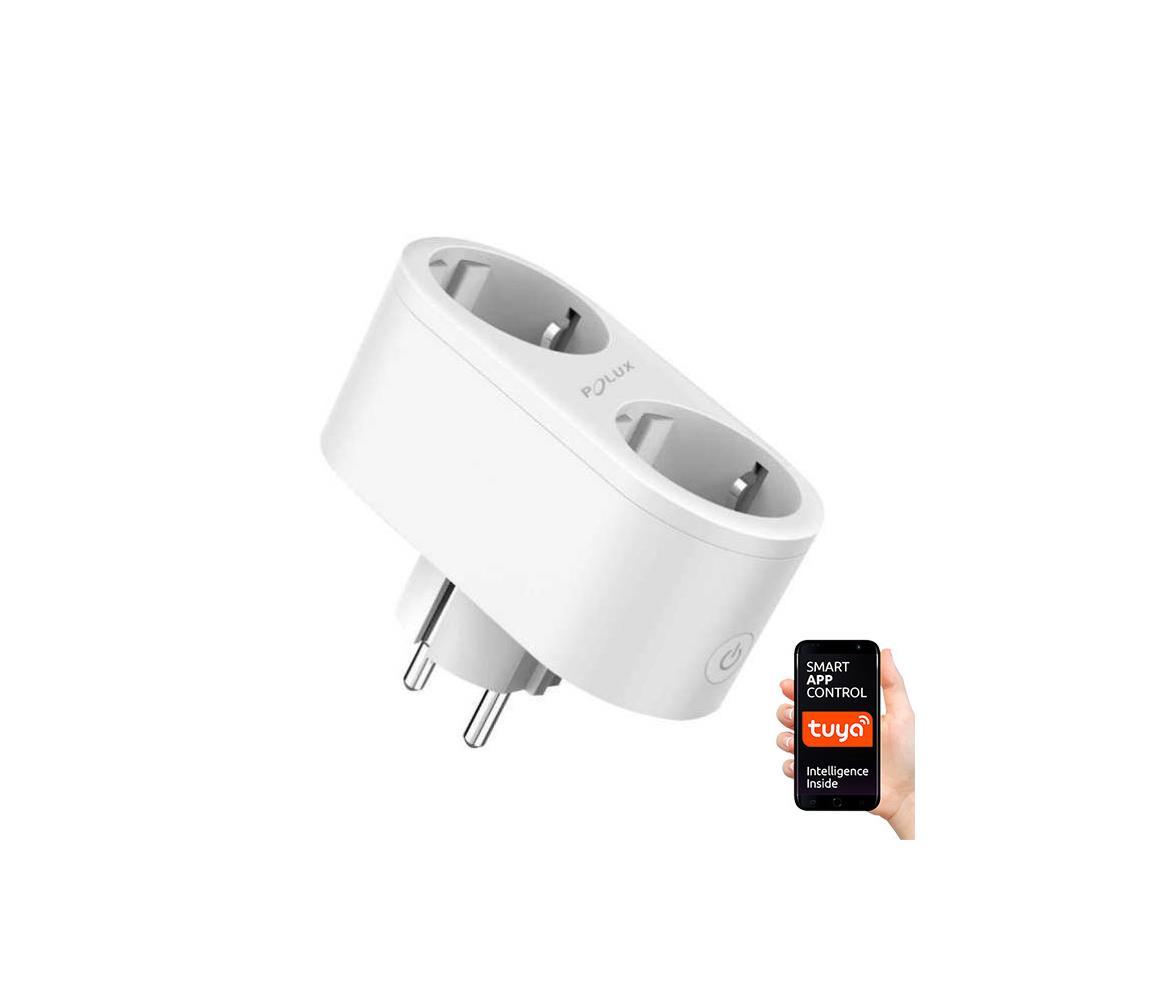 Polux Chytrá dvojitá zásuvka SMART 3680W/230V/16A Wi