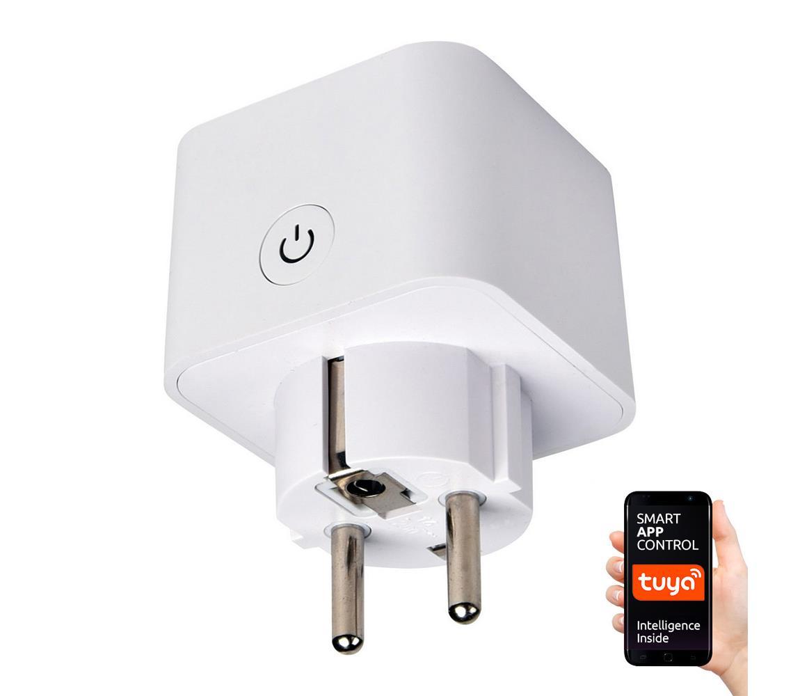 Greenlux Chytrá zásuvka SCHUKO 3500W/230V/16A Wi