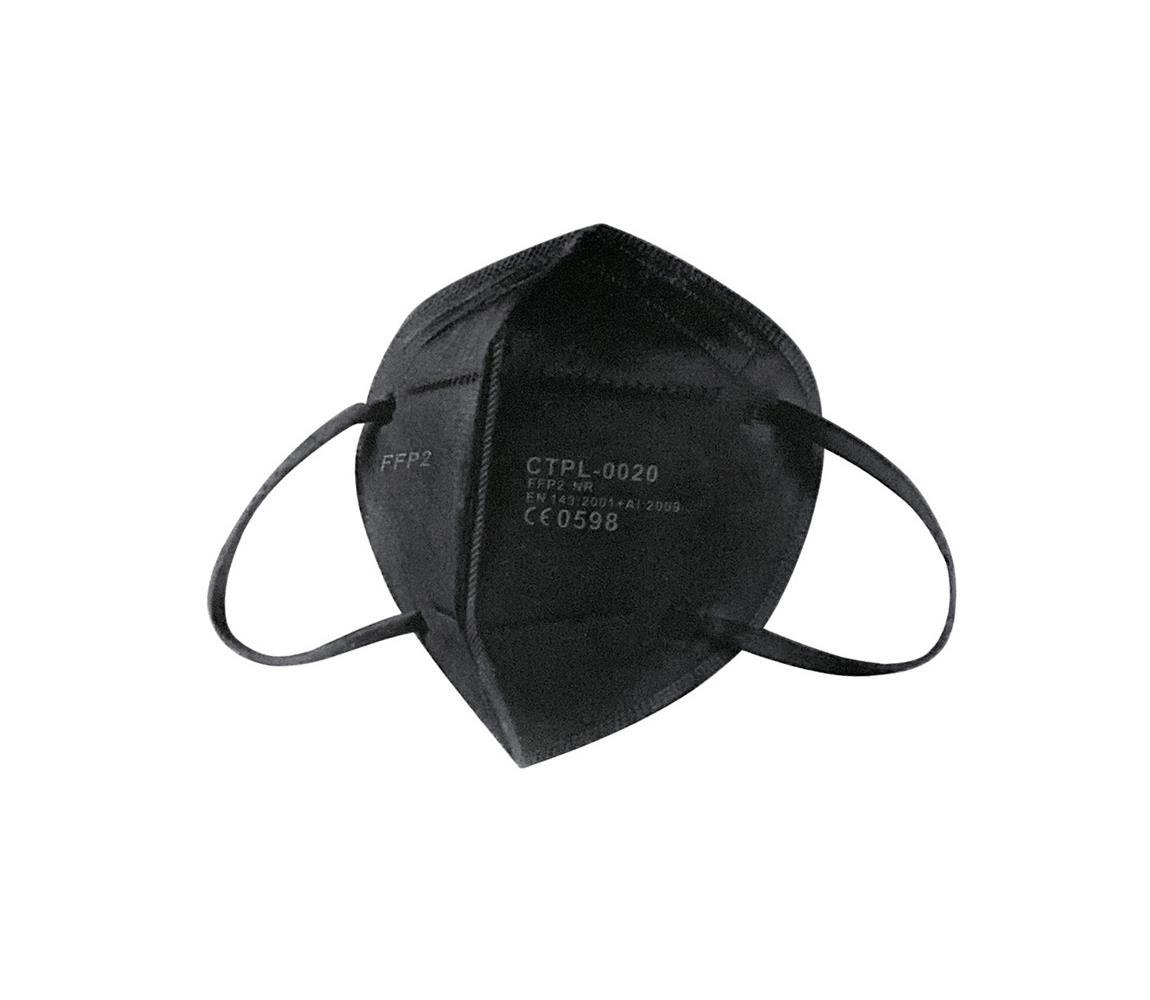 IMobily CTPL Respirátor FFP2 NR / KN95 Black 1ks