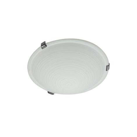 CYCLO stropní svítidlo 1xE27/60W matný chrom bílá