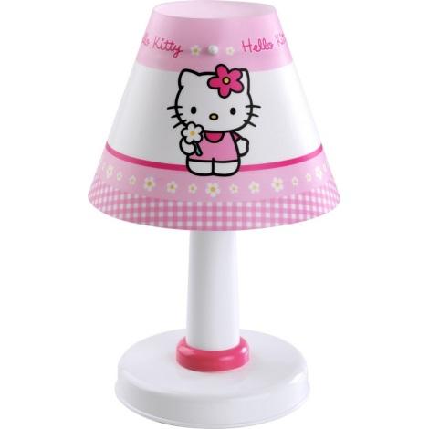 Dalber 21251 - Dětská stolní lampa HELLO KITTY E14/40W