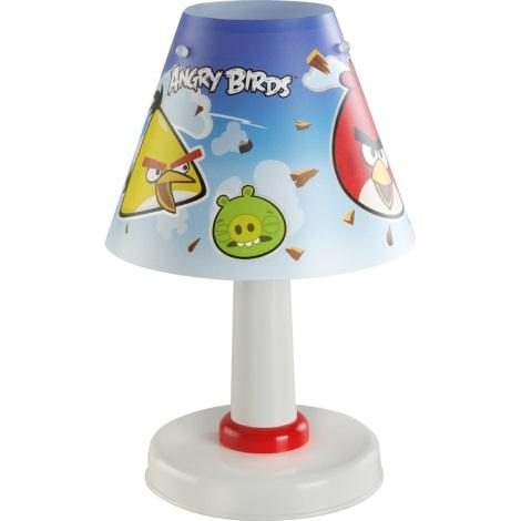Dalber 21881 - Dětská stolní lampa ANGRY BIRDS E14/40W