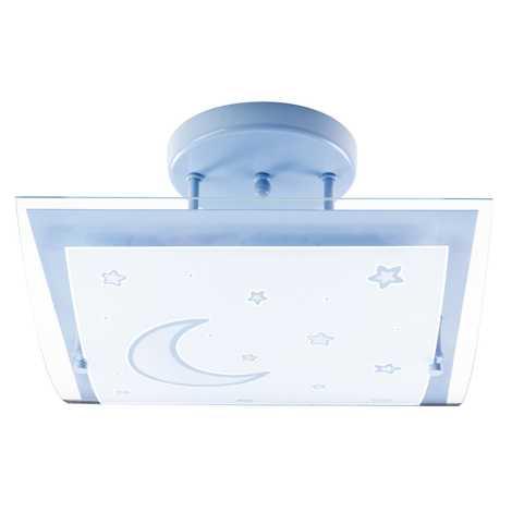Dalber 45237T - Dětské stropní svítidlo MOON LIGHT 2xE27/40W/230V