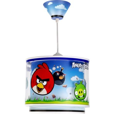 Dalber 60882 - Dětský lustr ANGRY BIRDS E27/60W