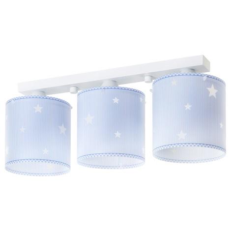 Dalber 62013T - Dětské stropní svítidlo SWEET DREAMS 3xE27/60W/230V