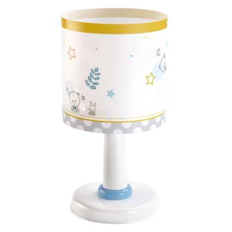 Dalber 62481 - Dětská lampička TEDDY & MOON 1xE14/40W/230V