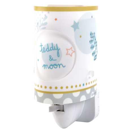 Dalber 62485 - LED lampička do zásuvky TEDDY & MOON 1xE14/0,3W/230V