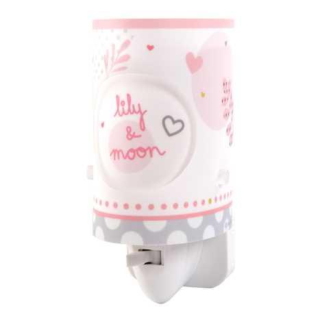 Dalber 62495 - LED lampička do zásuvky LILY & MOON 1xE14/0,3W/230V