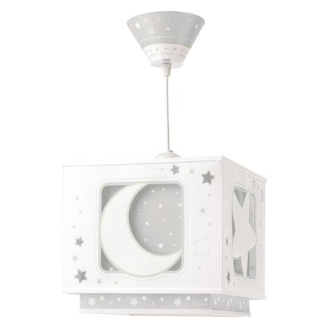 Dalber 63232E - Dětský lustr MOON LIGHT 1xE27/60W/230V