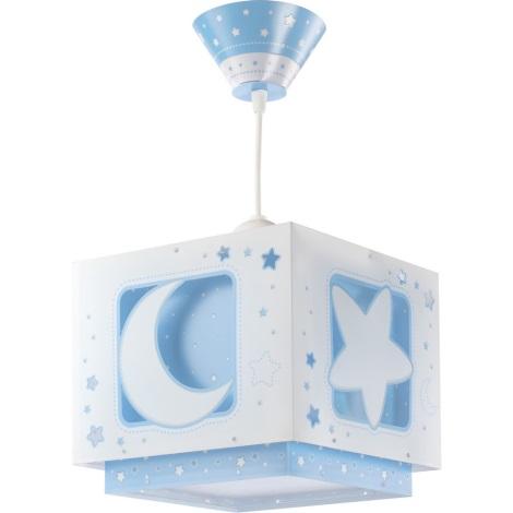 Dalber 63232T - Dětský lustr MOON LIGHT 1xE27/60W/230V