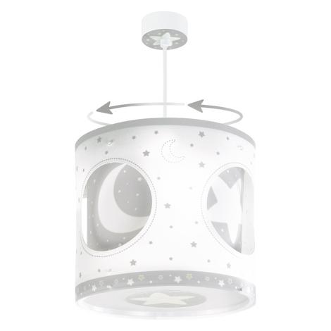 Dalber 63234E - Dětský lustr MOON LIGHT 1xE27/60W/230V