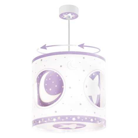 Dalber 63234L - Dětský lustr MOON LIGHT 1xE27/60W/230V