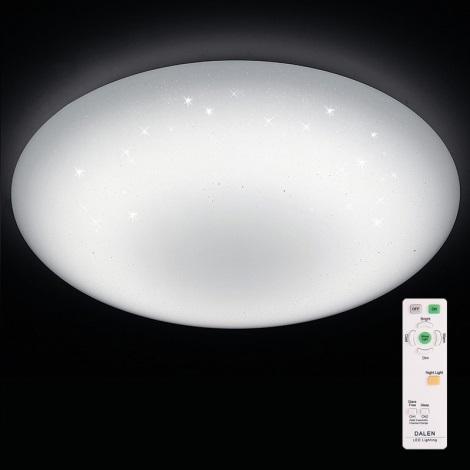 Dalen DL-C408TX - LED stmívatelné stropní svítidlo STAR SKY LED/56W/230V
