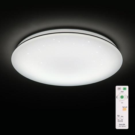 Dalen DL-S28TX - LED stmívatelné stropní svítidlo STAR SKY LED/28W/230V