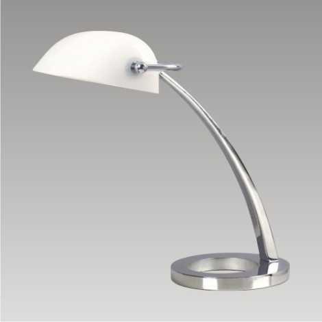 DALLAS Stolní lampa 1xE27/60W bílá