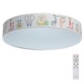 De Markt - LED Stmívatelné dětské stropní svítidlo HI-TECH 1xLED/50W/230V + dálkové ovládání