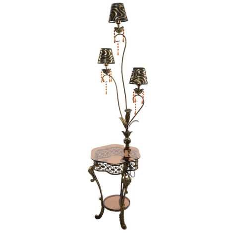 Dekorační lampa 3xE27/60W/230V
