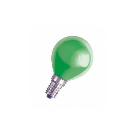 Dekorační žárovka E14/11W DECOR P GREEN