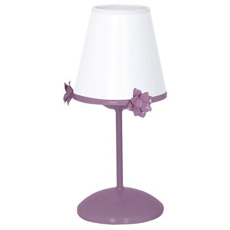 Dětská lampička ALICE 1xE14/60W/230V fialová