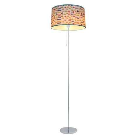 Dětská stojací lampa AUTA 1xE27/60W/230V