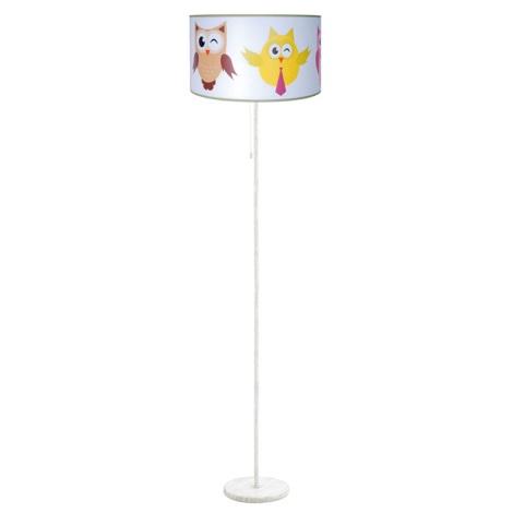 Dětská stojací lampa SOWY 1xE27/60W/230V