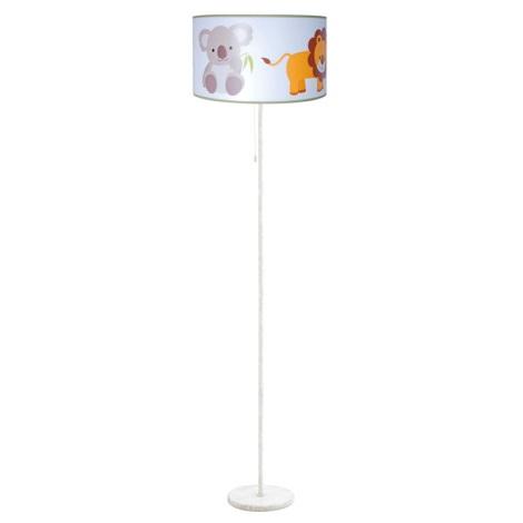 Dětská stojací lampa ZOO 1xE27/60W/230V