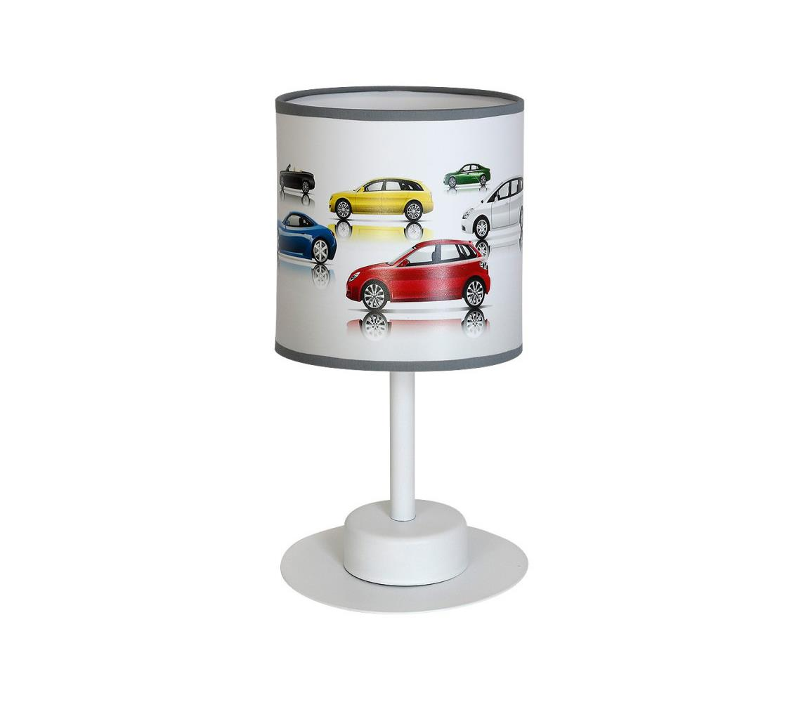 Decoland Dětská stolní lampa AUTA 1xE27/60W/230V DE9614