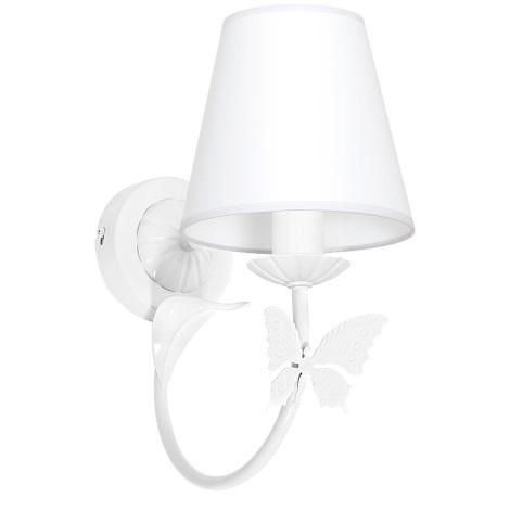 Dětské nástěnné svítidlo MOTÝLEK 1xE14/60W bílá
